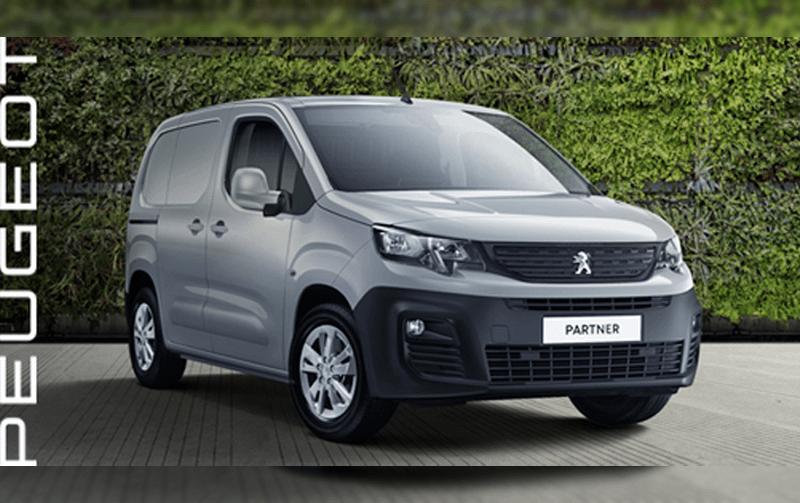 Peugeot Partner Professional Premium van offer