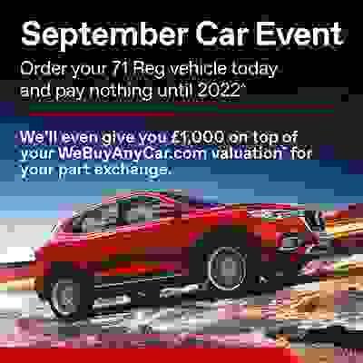 September Car Event!