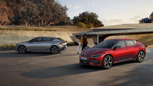 The Kia EV6 achieves product carbon footprint certification from the Carbon Trust