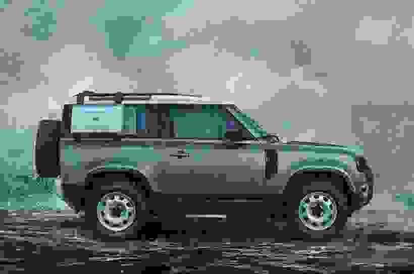 New Land Rover Defender 90