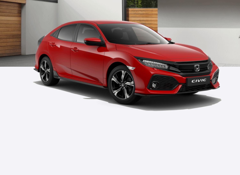 Red Honda Civic