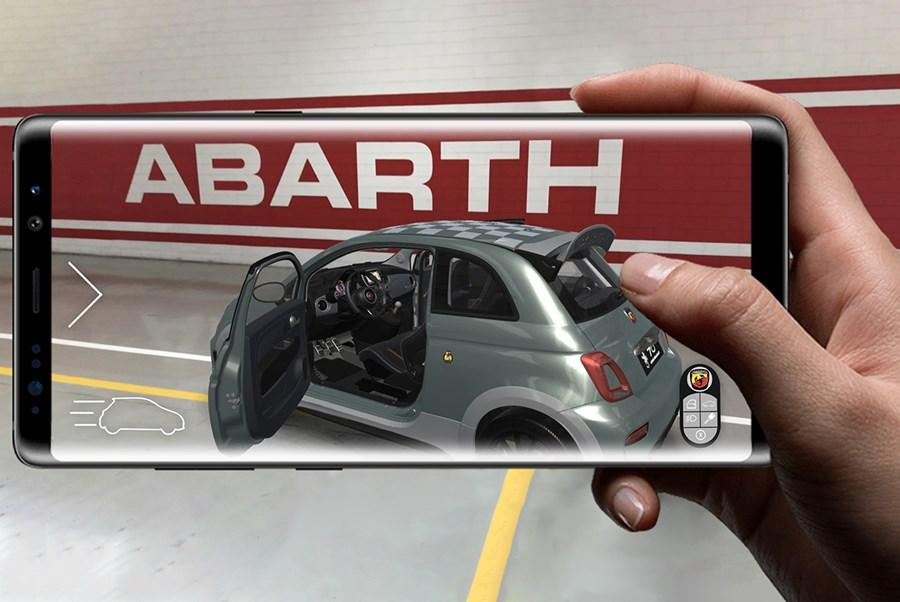 Experience the New Abarth 695 70th Anniversario Through Augmented Reality
