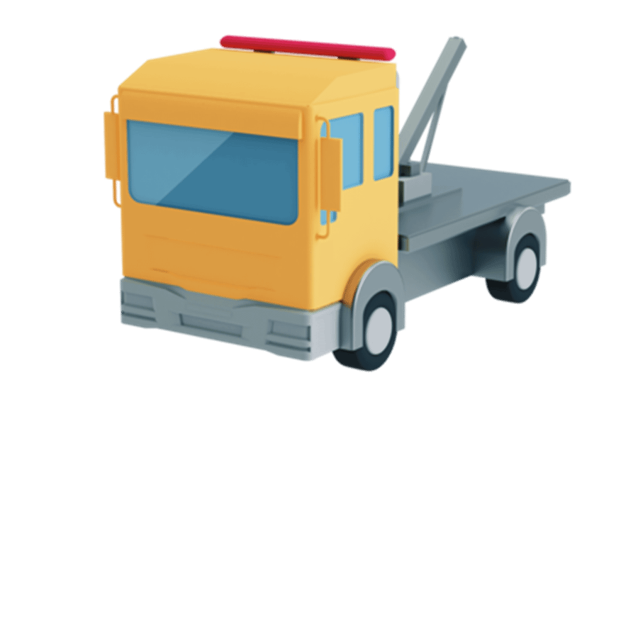 Yellow Recovery Truck