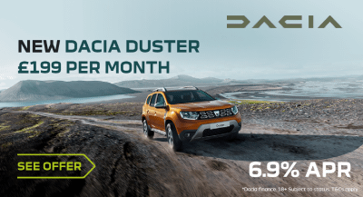 Dacia Duster Comfort TCe 90 From £199