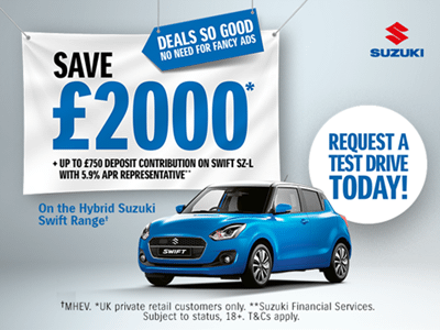 Swift Hybrid Offers and Finance