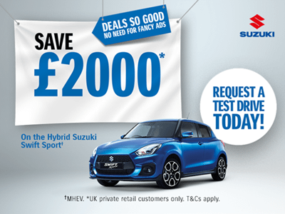 Swift Sport Hybrid Offers and Finance