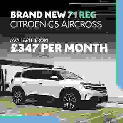 New C5 Aircross SUV Offer