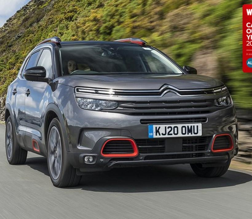 Citroën C5 Aircross Wins Best large SUV Of The Year Awards 2021