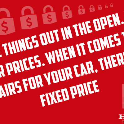 Honda Fixed Price Repairs