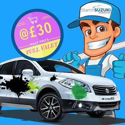 Flash Offer – Half Price FULL Valet!