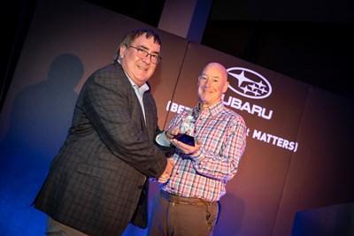 Simpsons Cars wins 'Best New Subaru Dealer' Award