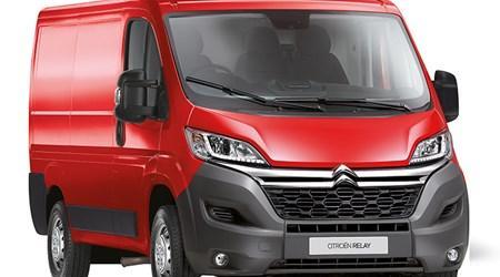 Relay Van at Just Motors