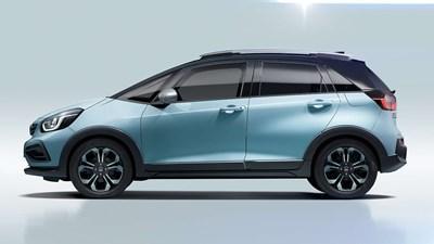 New Honda Jazz Hybrid Crosstar £1,000 Deposit Contribution