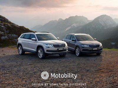 The ŠKODA Range – Motability Offers