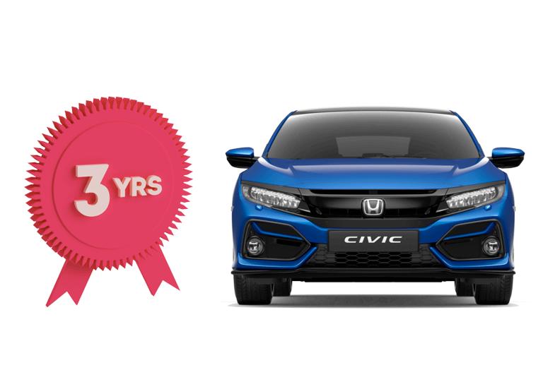 Honda 3 Year Warranty