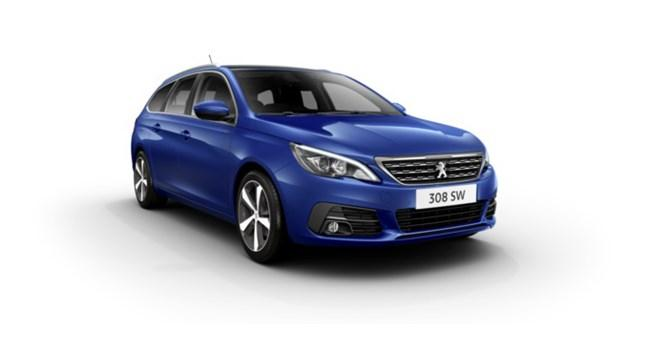 New Peugeot 308 SW at Sherwoods
