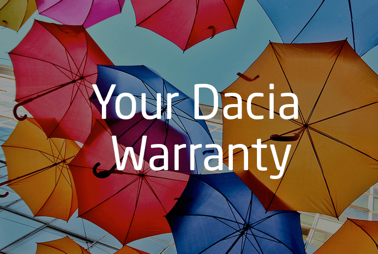 Dacia 3 Year Warranty