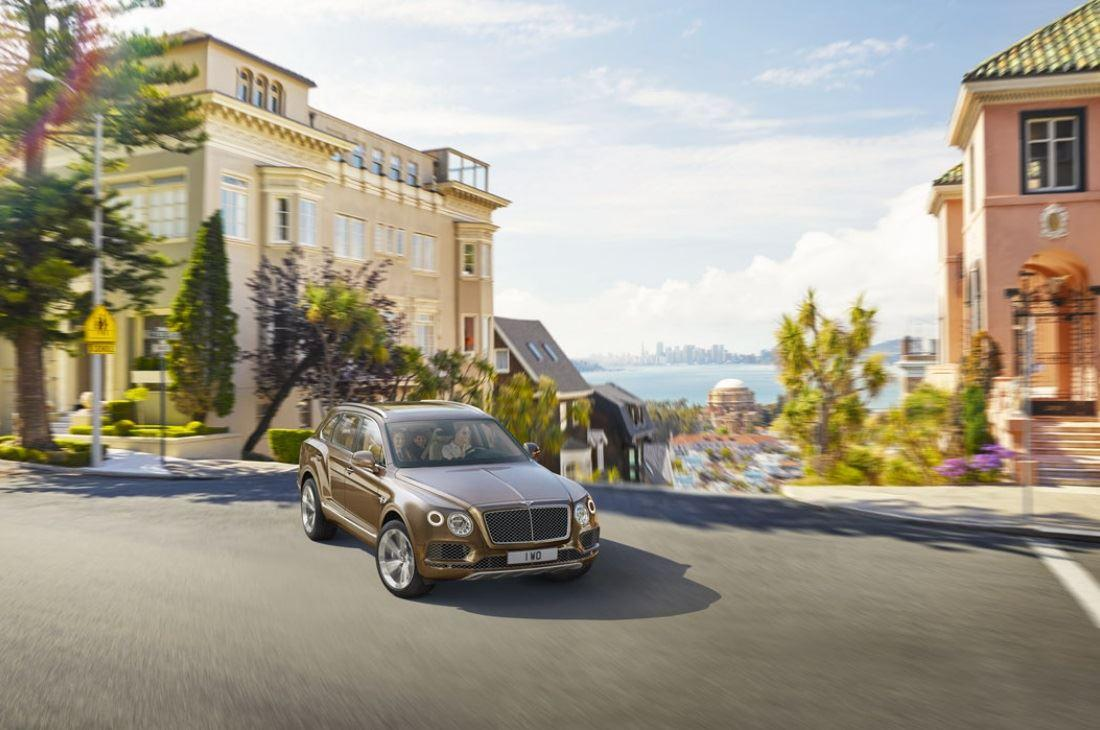 New Bentley Bentayga