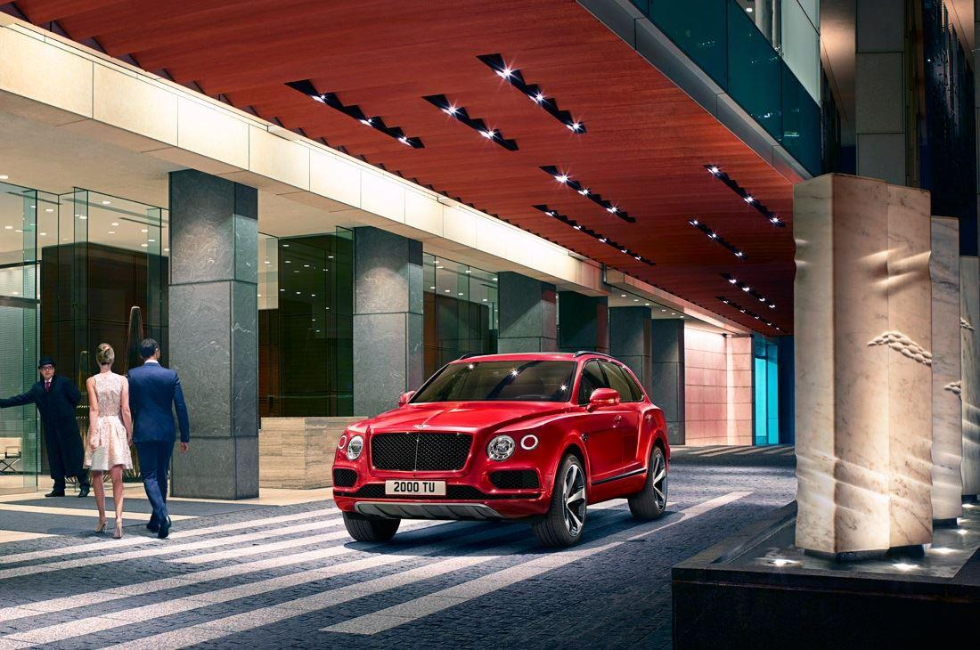 New Bentley Bentayga V8