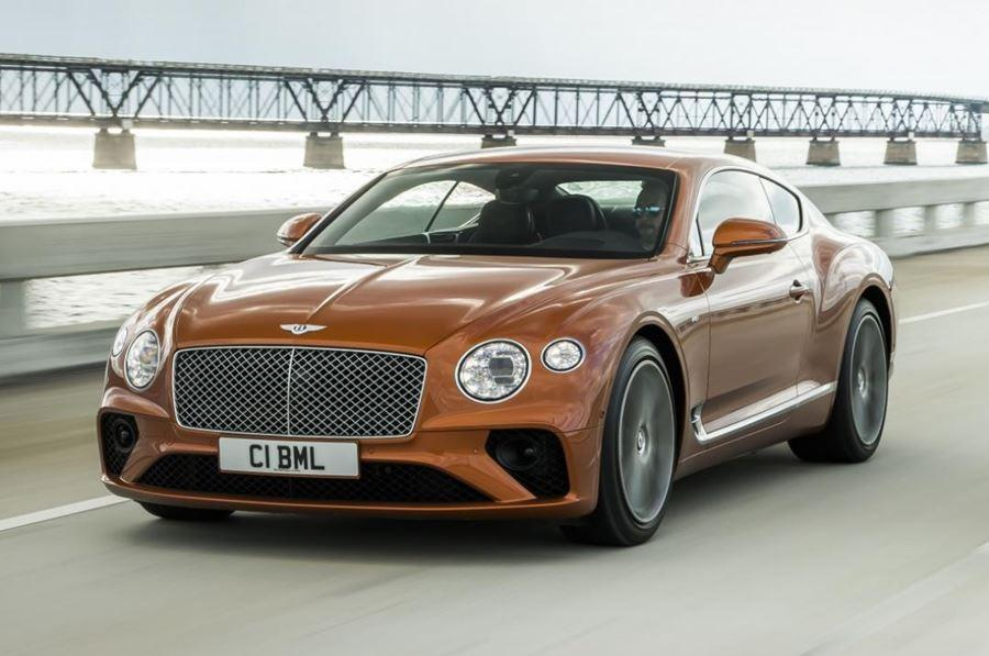 front of bentley continental gt v8