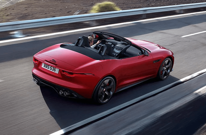 New Jaguar F-Type Convertible