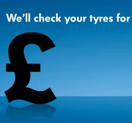 We'll check your tyres for free image