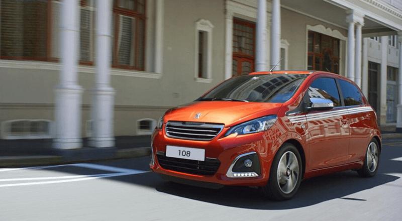 Peugeot 108 Business Offer