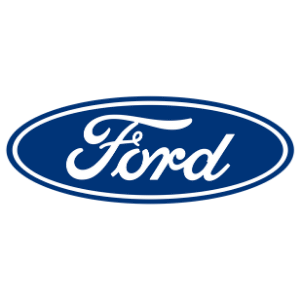 Ford logo white background