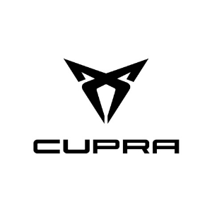 CUPRA Logo on a white background