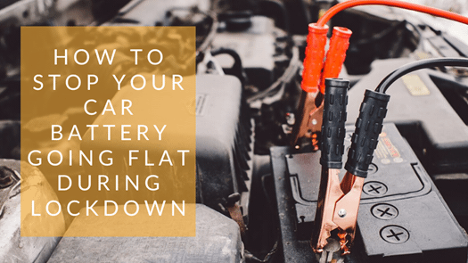 How to stop your car battery going flat during COVID-19 lockdown
