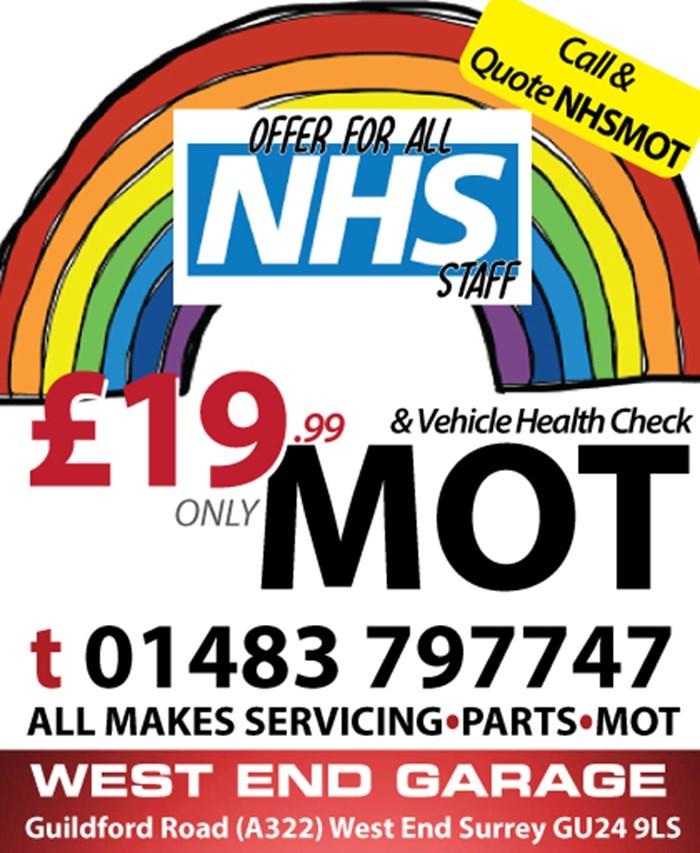 NHS - MOT OFFER