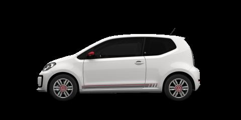 White Volkswagen up!