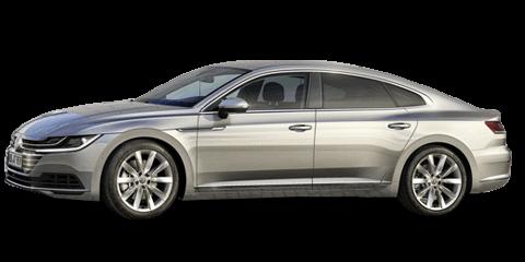 Silver Volkswagen Arteon