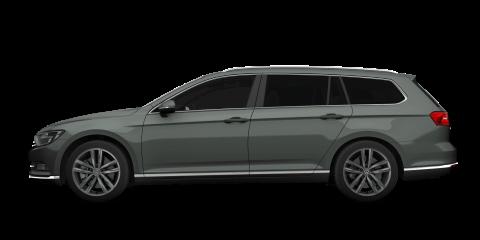 Grey Volkswagen Passat Estate