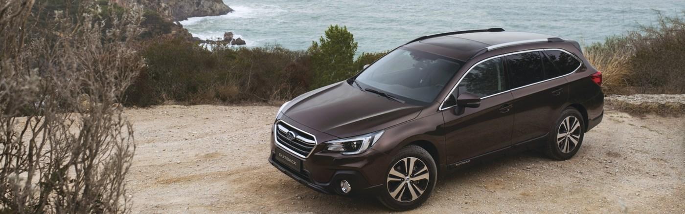 The Subaru outback
