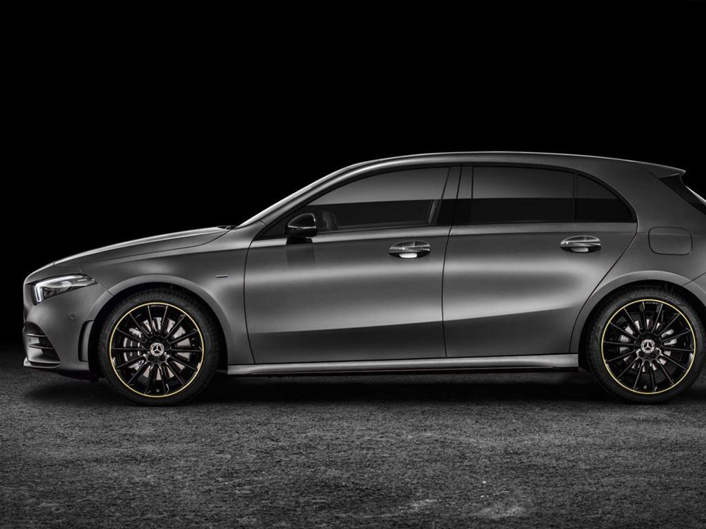 Grey A-Class Side View