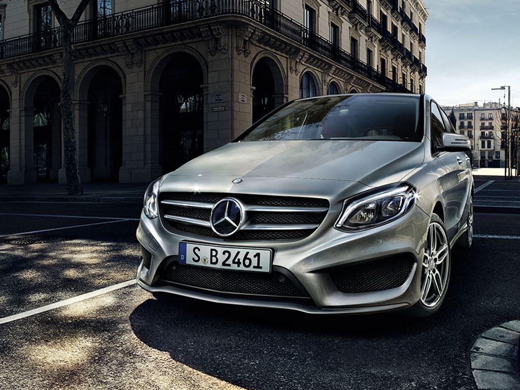 grey B-Class