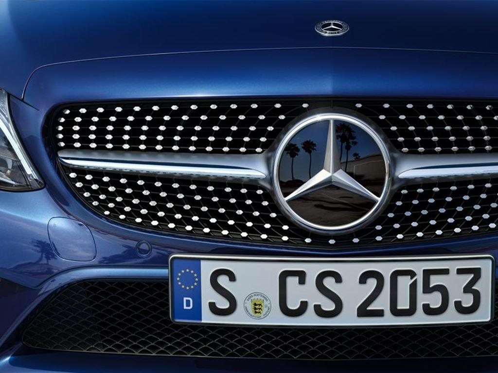 C-Class Estate Front Badge and Grille