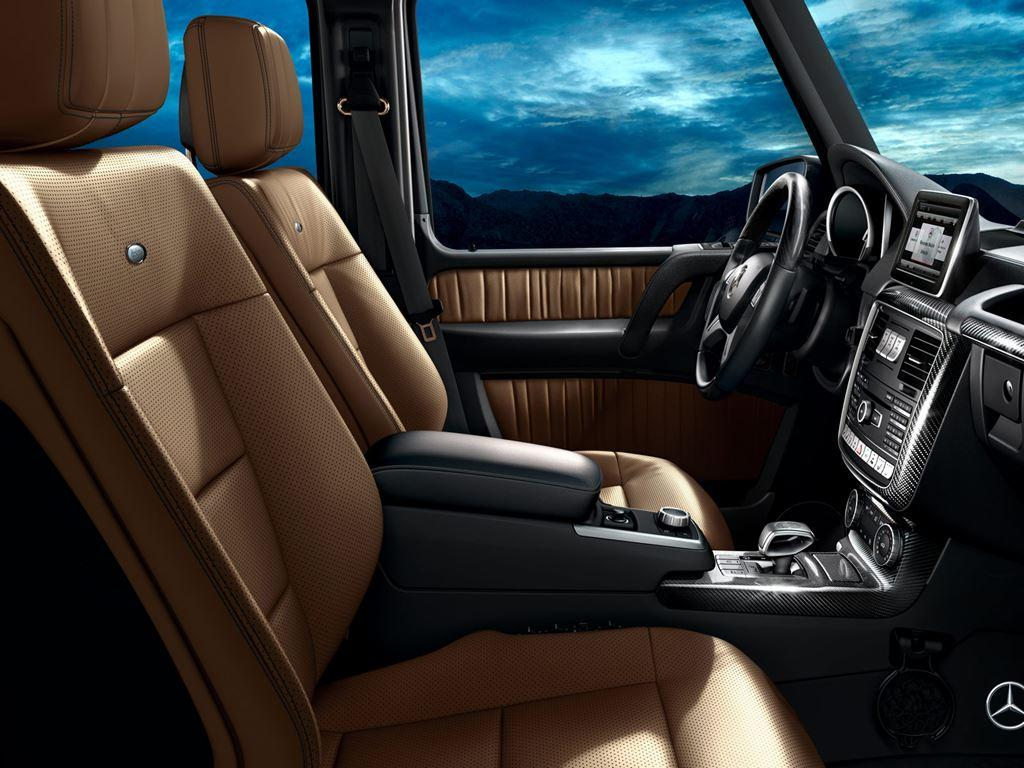 G-Class Front Interior