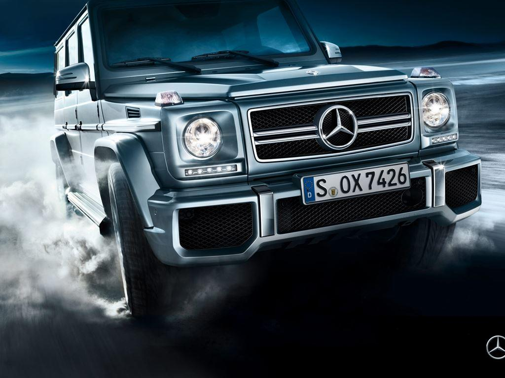 Front of G-Class