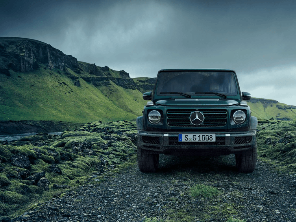 G-Class off road front view