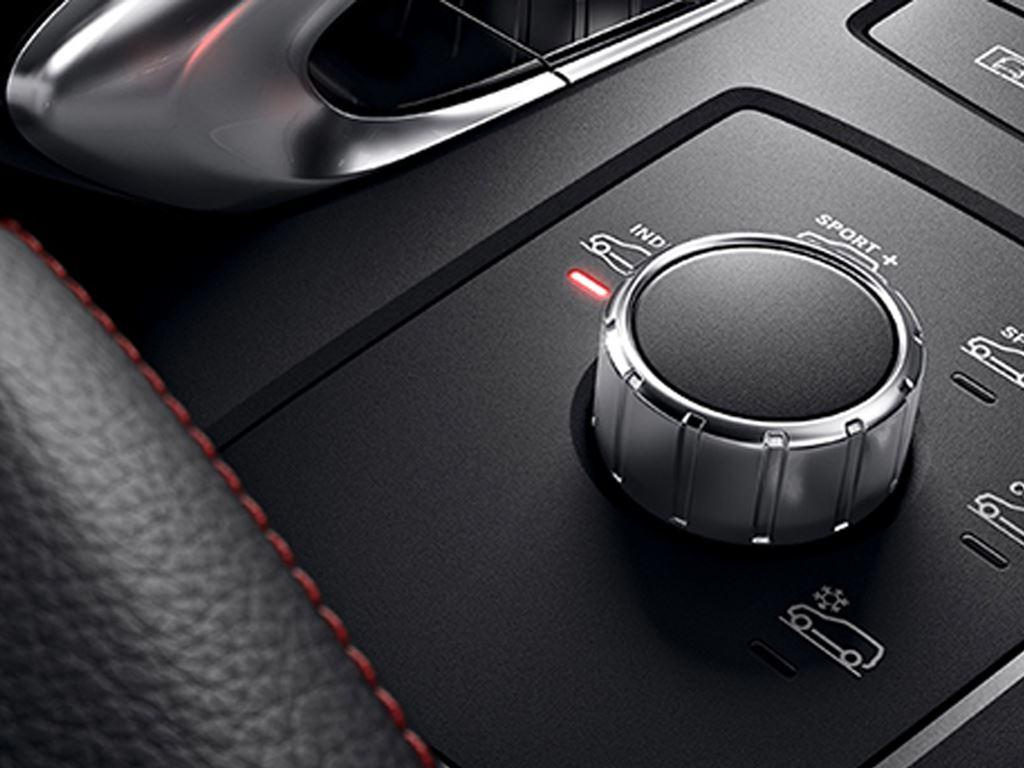 GLE Coupe driving mode control