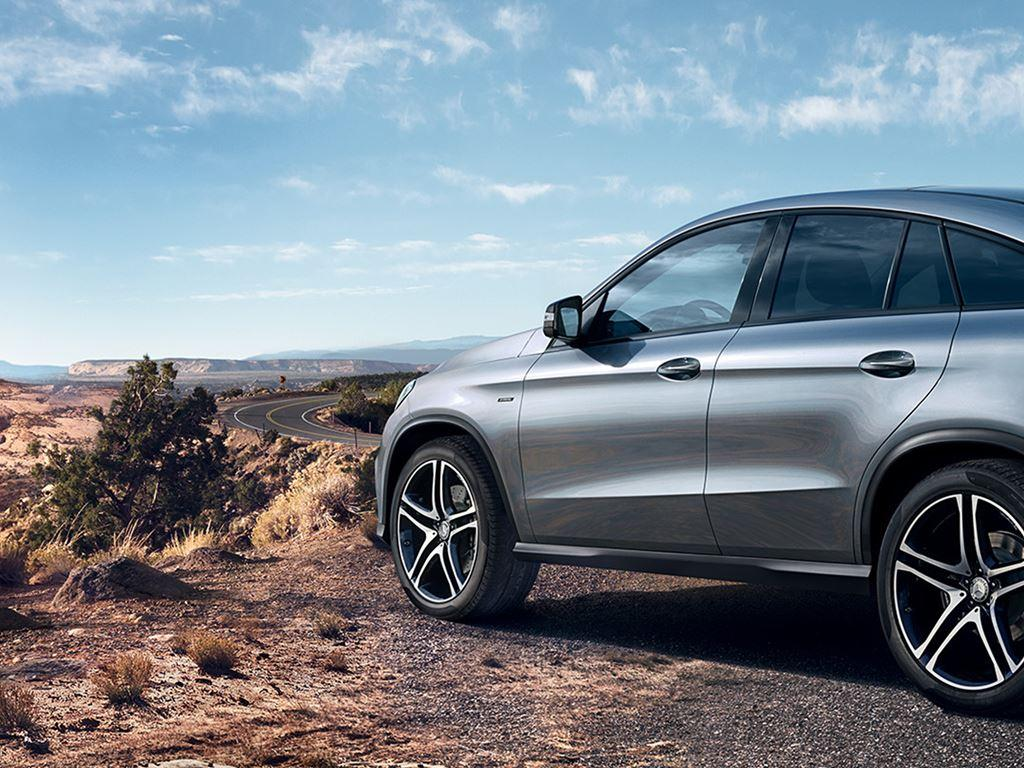 GLE Coupe exterior