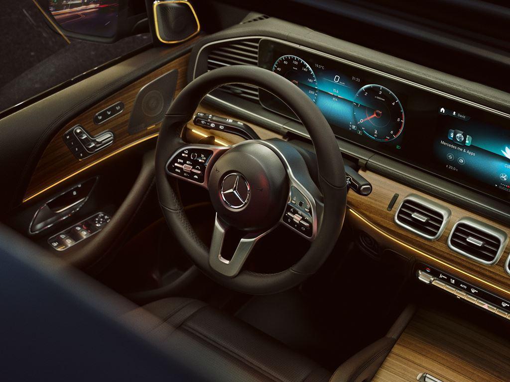 GLE Steering Wheel