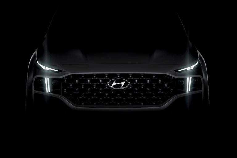 Hyundai Motor reveals first glimpse of the new Santa Fe