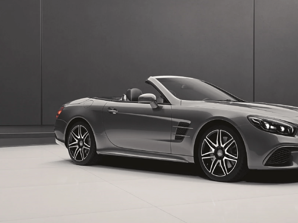 Grey SL Roadster