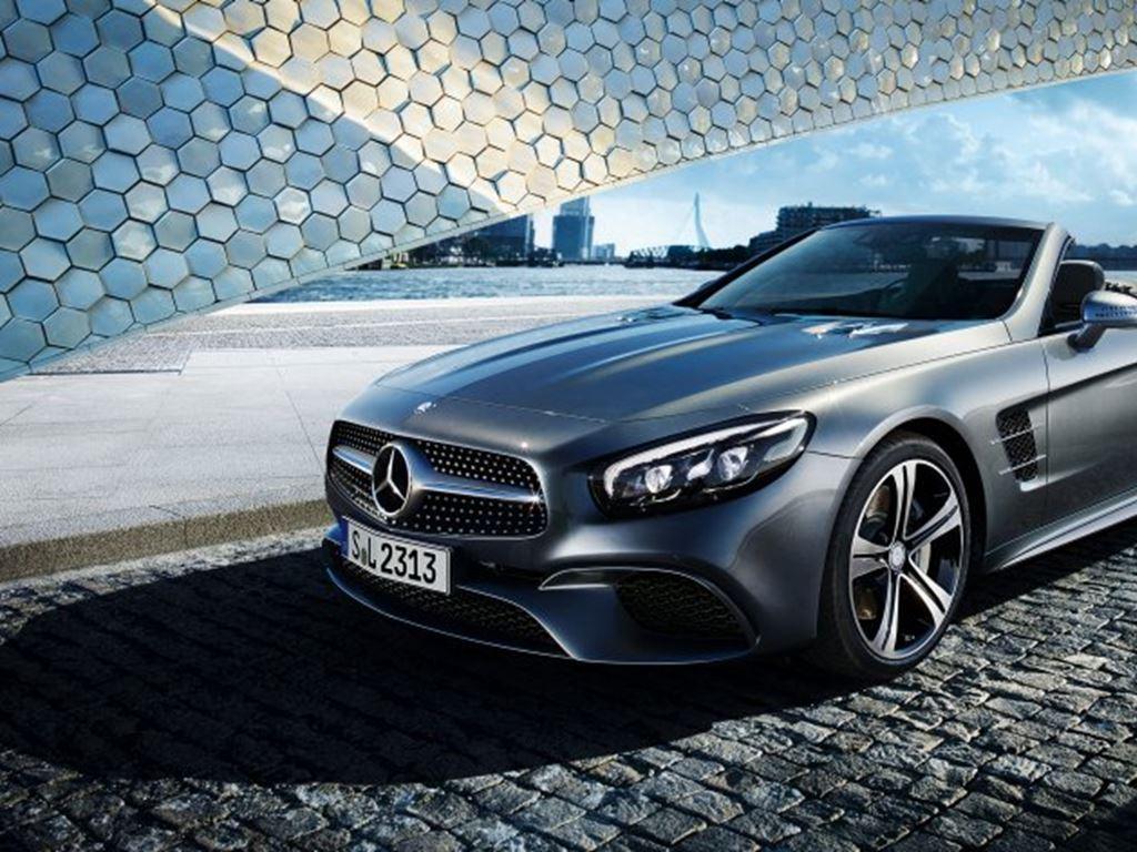 Mercedes-Benz SL Grey