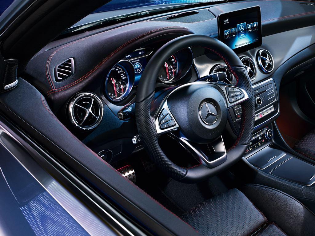 CLA Coupe Interior