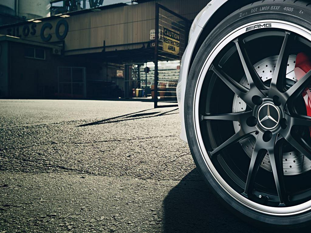 C-Class Coupe Alloy Wheel