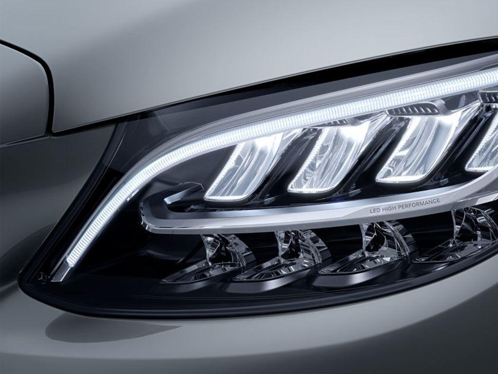 C-Class Coupe Headlight